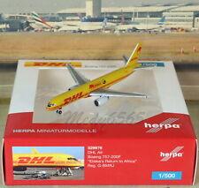 "Herpa Wings DHL ""Africa"" Boeing B757-200F (NG) 1/500"
