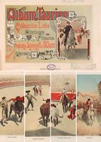 Set/Colección Lidia - Albúm taurino. Dibujo de Perea y litografía Palacios