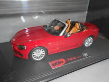 BBRC1815RP by BBR FIAT 124 SPIDER ROSSO PASSIONE WITH SHOWCASE 1:18