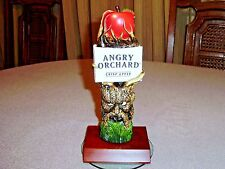 """ANGRY ORCHARD HARD CIDER FIGURAL TAP HANDLE WIZZARD OF OZ ANGRY APPLE TREE 8"""""""