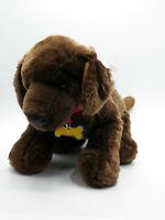 "Build a Bear Brown Lab Puppy Dog Stuffed Animal Plush 14"" FREE SHIP"