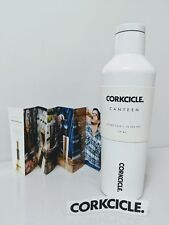 Dipped Collection Canteen and Water Bottle, Corkcicle, 16 oz Modernist White