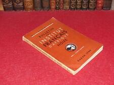 [Coll. R.-JEAN MOULIN ETHNOLOGIE AFRIQUE NOIRE] BULLETIN IFAN XVIII/1-2 J/A 1957