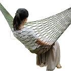 Portable Travel Camping Outdoor Mesh Swing Sleeping Bed Nylon Hammock Hanging