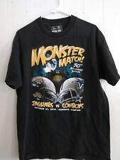 Monster Match Dallas Cowboys Jaguars Tshirt 50th Anniversary Texas 2010