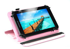 7 inch Lenovo Tablet Unlocked 3G Phone Tablet 8MP Dual Sim with Pink Case 16G
