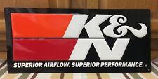 K&N Airfilter Embossed Metal Advertise Pump Petroleum Motor Oil Texaco Mobil