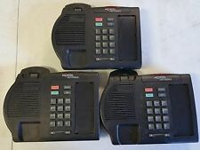 (3) Nortel Meridian M3901 Norstar, Black - Core Base Unit Only
