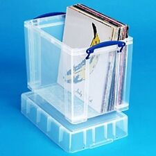 19 Litre XL Really Useful Box 50 Vinyl LPs Records DJ Accessories Storage Case
