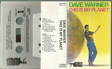 Y MC CASSETTA Dave Warner/This is My Planet/frituna 1981