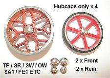 Mamod Hubcaps FULL SET NEW TE SR SW1 SA1 FE1 OW1
