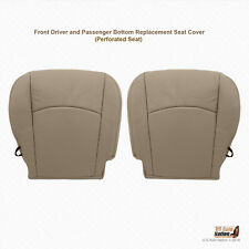 2009 2010 Dodge Ram 1500 Laramie DRIVER-PASSENGER Bottom Leather Seat Cover Tan