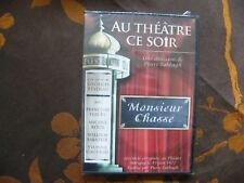 DVD AU THEATRE CE SOIR MONSIEUR CHASSE - Georges Feydeau (2008)  NEUF BLISTER