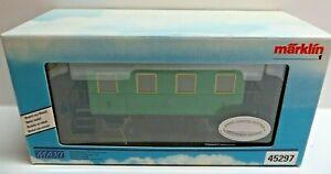 Märklin Gauge 1 Maxi 5470 Two-Axle Schwäbischer Passenger Car 2. Class IN Evp