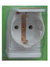 Überspannungsschutz Steckdose Euro Strom Blitzschutz + LED von Isotronic 3500W
