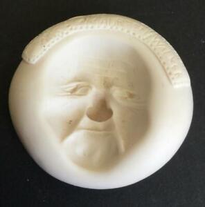 AMACO Push Molds Hard resin mold #4 1992 WOODS WALKER by Maureen Carlson Santa
