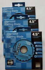 Diamond Cutting Disc Blade 115mm 22.2mm 3pcs