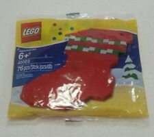 Lego Christmas Stocking Boot Set #40023  NIP  Holidays - Free Ship - Mint