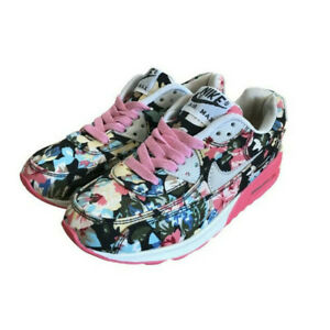 Nike Air Max Floral Womens Girls Runners Shoes Trainers US 6.5 / EUR 38 / UK 5.5