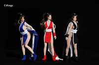 "cdtoys 1/12 Scale Mai Shiranui Clothes Set Fit 6"" Female Phicen TBL Body"