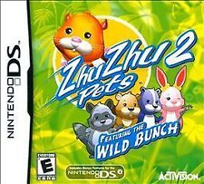 ZhuZhu Pets 2: Featuring the Wild Bunch (Nintendo DS, 2010) Sealed New