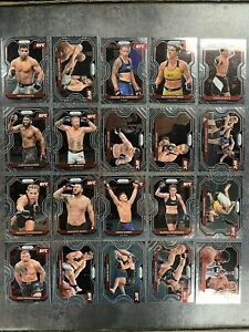 Panini UFC Prizm Lot 20 Cards Debut Edition Pack Fresh 2021
