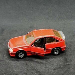 Matchbox Vauxhall Astra GTE Red Vintage Die-Cast Vehicle 1980s Macau