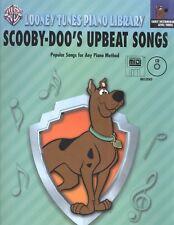 Scooby-Doo's Upbeat Songs Early Intermediate Level 3 Piano Book w Cd & Midi