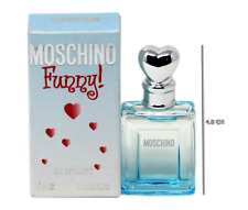 MOSCHINO FUNNY EAU DE TOILETTE SPLASH 4 ML/0.13 FL.OZ. MINIATURE