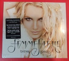 FEMME FATALE [Digipak] by BRITNEY SPEARS (CD, 2011 - Jive -USA) BRAND NEW SEALED
