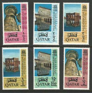 Qatar, 1965, Scott #47-52, Mint, Never Hinged, Very Fine