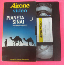 VHS film PIANETA SINAI Alberto Siliotti AIRONE VIDEO MONDADORI (F107) no dvd