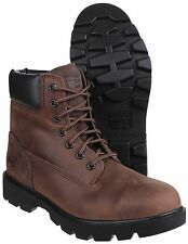 Timberland Sawhorse Lace up Oiled Nubuck Comfortable Safety Boot Brown 11uk / 46eu
