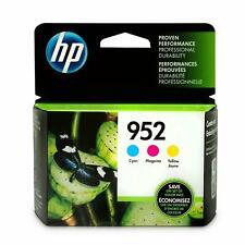 HP 952 Cyan, Magenta and Yellow Ink Cartridges
