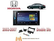 NEW 2003-2007 HONDA ACCORD BLUETOOTH TOUCHSCREEN CAR STEREO COMBO