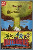 The Outsiders #2 (Dec 1985, DC) Mike Barr Jim Aparo c