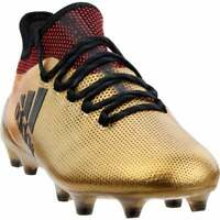 adidas X 17.1 Firm Ground  Casual Soccer  Cleats - Gold - Mens