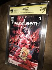 Babyteeth #1 Heroes Con Exclusive 9.8 CBCS Signed: Visions, Brown & Cates