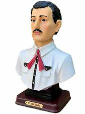 New Listing8' Jesus Malverde Statue 6315-8 Bust Sinaloa Figurine Mexico Estatua Figure