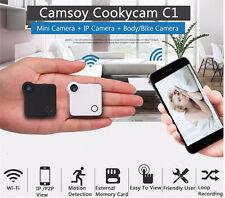 720P Mini Camera HD C1 IP Cam WiFi Wearable Mini Micro Camera Motion Sensor