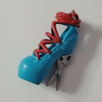MONSTER HIGH DOLL SHOE FRANKIE STEIN THREADARELLA SINGLE BLUE LEFT HEEL ONLY