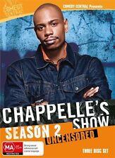 Chappelle's Show : Season 2 (DVD, 2010, 3-Disc Set)-REGION 4-Free postage