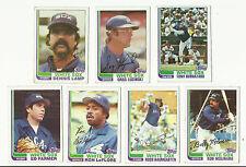 Vintage 1982 tarjetas de béisbol Topps – – MLB Chicago White Sox