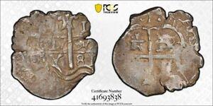 1681-P V Bolivia 1 Real Cob PCGS VF Lot#G971 Silver!