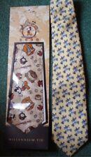 New/Nwt Disney Millennium Mickey Mouse + Used Sport Goofy Ties/Neckties+Bonus