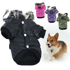 More details for quality mini winter coat pets dogs puppy jacket warm clothes apparel outerwears