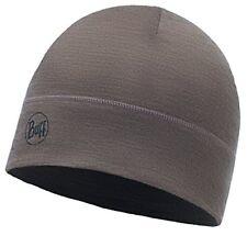 Bonnet Buff Lightweight Merino Wool - Solid Walnut Brun