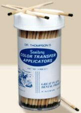 Dr. THOMPSON'S COLOR TRANFER APPLICATORS  Dental Tatoo indelible ink stick 50