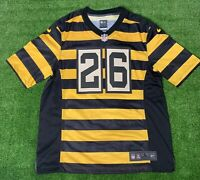 Nike Mens On Field NFL Pittsburgh Steelers Bumblebee Jersey Leveon Bell Size L