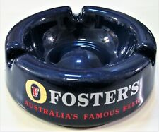 Vintage Ceramic Foster's Australian Beer Advert Ashtray